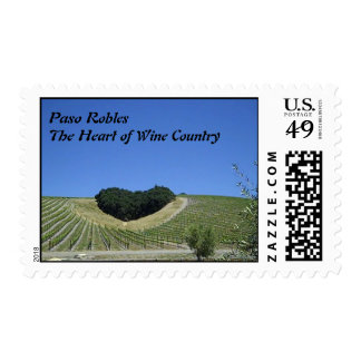 Stamp: Paso Robles: The Heart of Wine Country Stamp