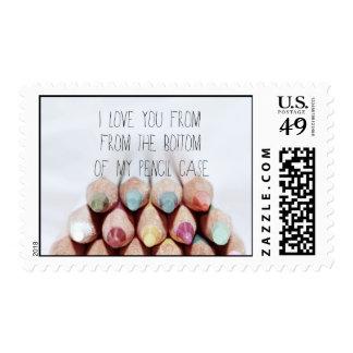 Stamp .. Pencil Case.