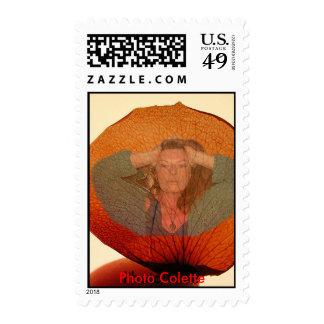 Stamp photo Colette