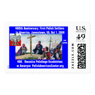 stamp product 400th Anniversary 1st Polish Settler