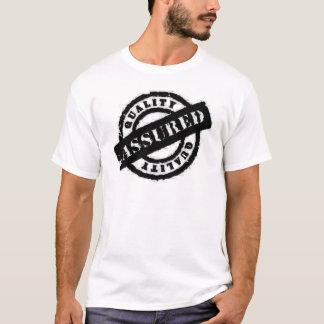 stamp qualitiy assured black T-Shirt