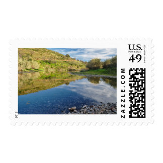 Stamp: River Mirror Postage