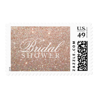 Stamp - Rose Gold Glit Bridal Shower