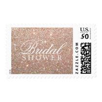 Stamp - Rose Gold Glit Bridal Shower