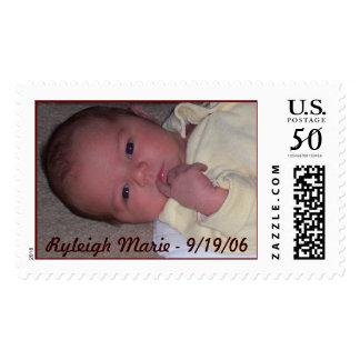 Stamp Ryleigh, Ryleigh Marie - 9/19/06