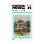 stamp san francisco victorian