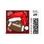 Stamp - Santa Football