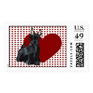 Stamp - Scottish Terrier