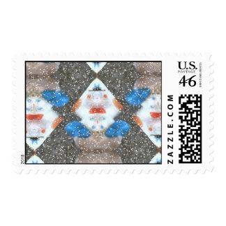 Stamp Snowman Blvd