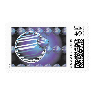 Stamp SPHERICAL UNIVERSE