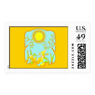 Stamp - Sunny Day