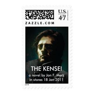 stamp, THE KENSEI, a novel by Jon F. Merzin sto... Postage