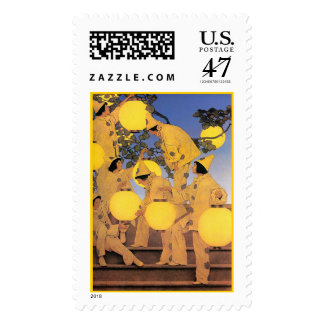 Stamp: The Lantern Bearers - Maxwell Parrish Postage