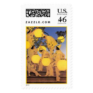 Stamp: The Lantern Bearers - Maxwell Parrish