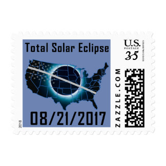 Stamp - Total Solar Eclipse 2017 in USA
