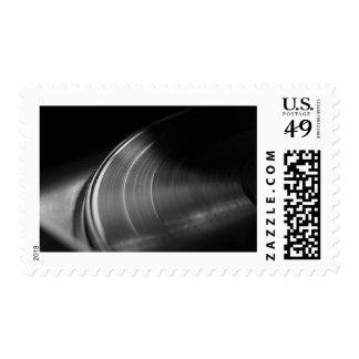 Stamp: Vinyl Record and Turntable Postage