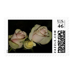 Stamp with 3 roses stamp