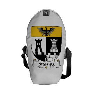 Stampa Family Crest Messenger Bag