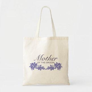 Stamped Floral Wedding Design Tote Bag