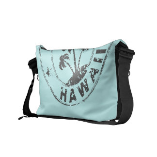 Stamped Hawaii Courier Bag