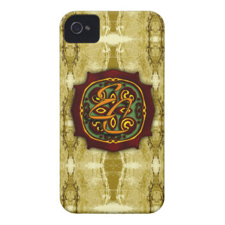 Stamped Paper iPhone 4 Case