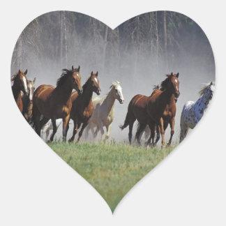 Stampede Heart Sticker