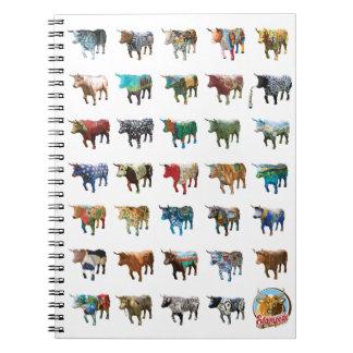 Stampede Oxen Notebook design #2