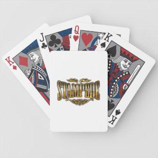Stampede Playing Cards