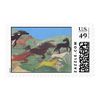 Stampede! Postage Stamps (Medium)