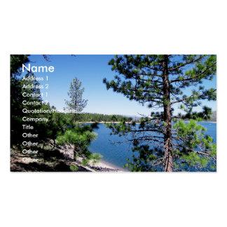 Stampede Reservoir Business Card Templates