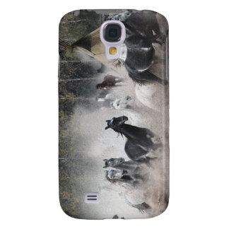 Stampeding Mustang Horses iPhone 3 Case
