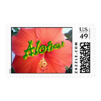 StampHibiscusAlohaTwo.jpg Postage Stamp