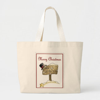Stampin Christmas Jumbo Tote Bag