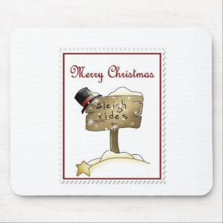 Stampin Christmas Mouse Pad