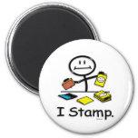 Stamping Fridge Magnets