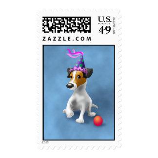 StampJackRusselA Postage