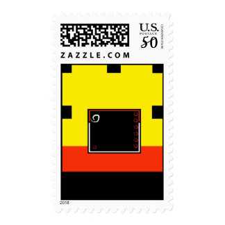 Stamps abstract Loft Living Lifestyle Flat City Ap
