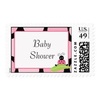 ladybug baby shower postage stamps zazzle