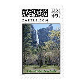 Stamps - Bridal Veil Falls