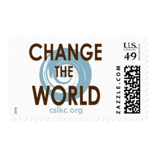 Stamps: Change the World Postage Stamp