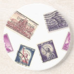 Stamps! Coasters