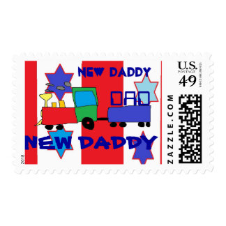 stamps dad Daddy Father postage  shower baby