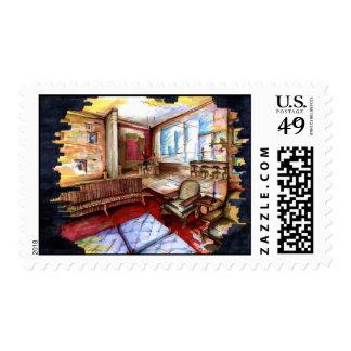 Stamps designed by Thompson Kellett