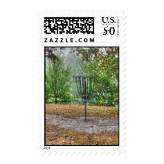 Stamps - Disc Golf Basket