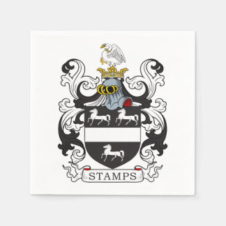 Stamps Family Crest Disposable Napkins