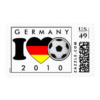 Stamps for Champs: Germany Stamp 2010