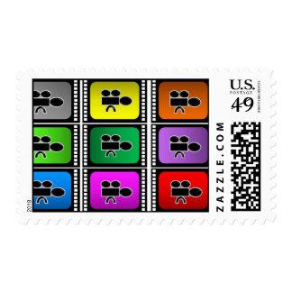 stamps postage film festival movies cinema