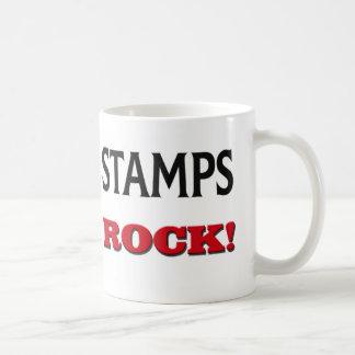 Stamps Rock Coffee Mugs