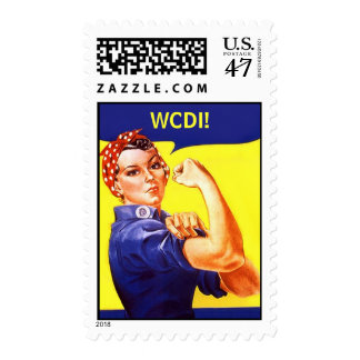 Stamps Rosie The Riveter ~ Texting Message WCDI!