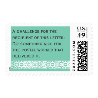 Stamps that spread good deeds
